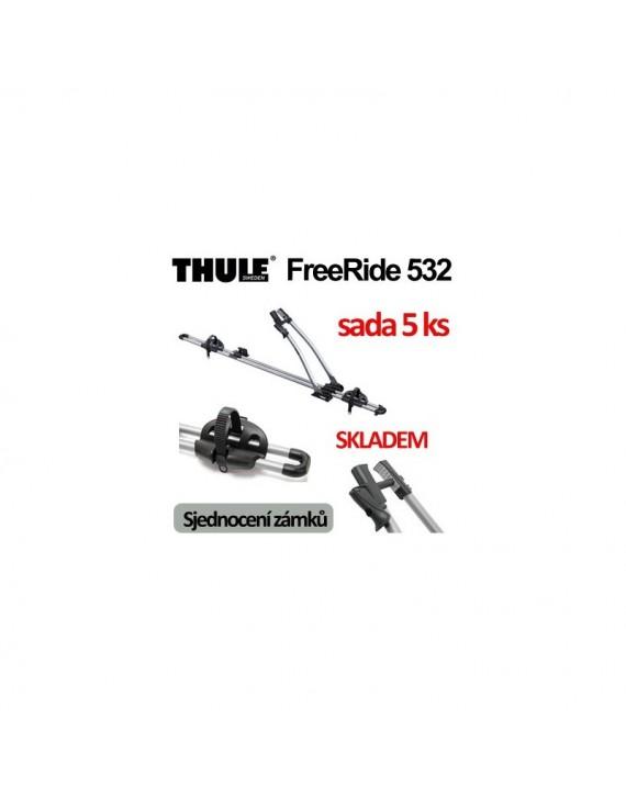 Thule FreeRide 532 sada 5 ks