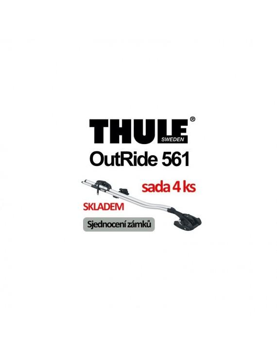 Nosič kol Thule OutRide 561 sada 4 ks