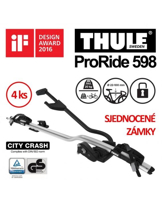 Thule ProRide 598 sada 4 ks
