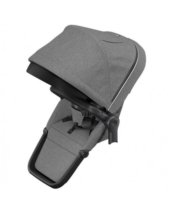 Sourozenecké sedátko Thule Sleek Grey Melange on Black