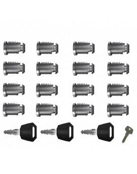 Sada zámků (16ks) Thule 451600 One Key System 16-Pack