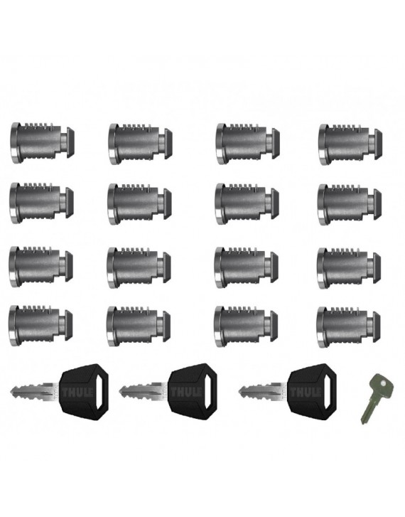 Sada zámků (16ks) Thule 451600 One Key System 16-Pack