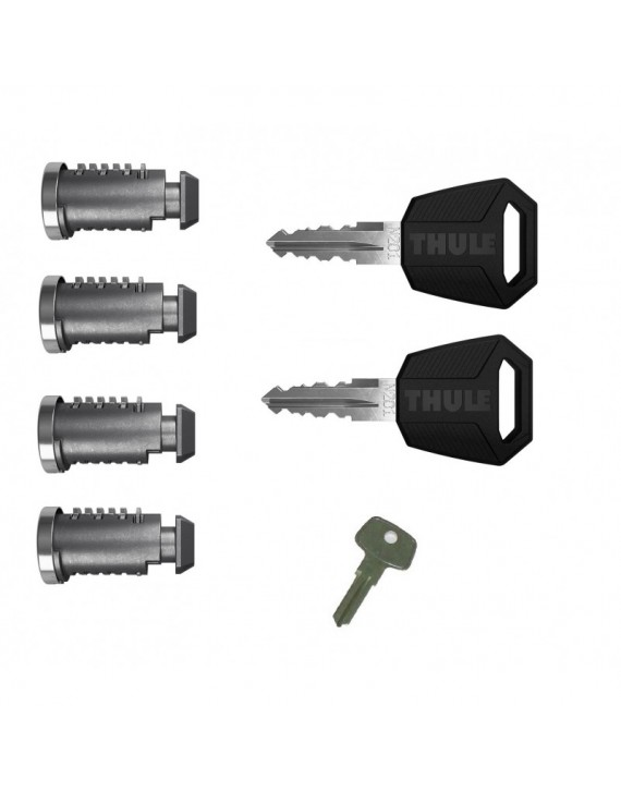 Sada zámků (4ks) Thule 450400 One Key System 4-Pack