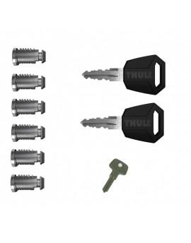 Sada zámků (6ks) Thule 450600 One Key System 6-Pack