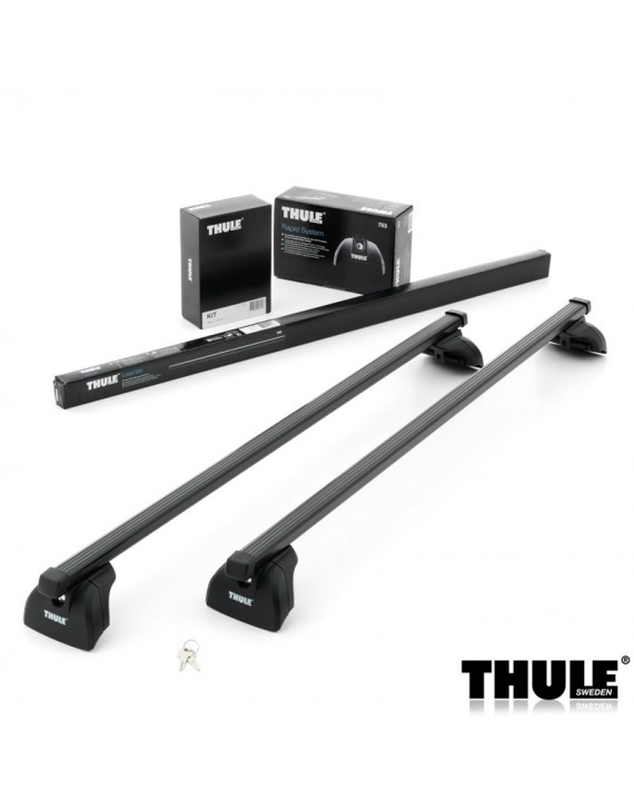 Příčníky Thule 753 + 7122 + kit