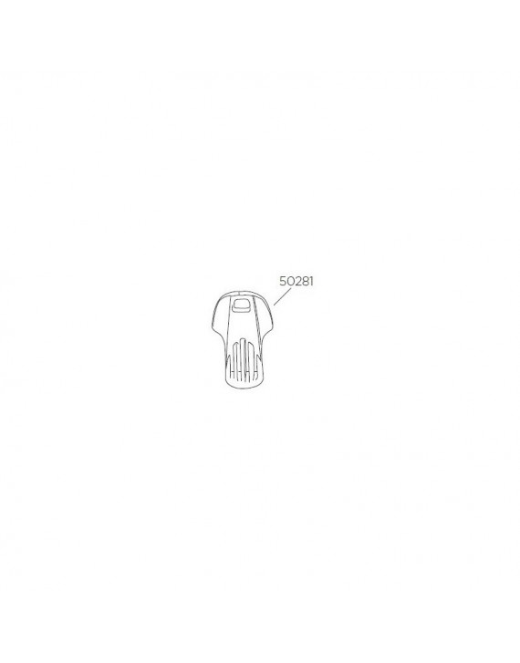 Plastový klíč Thule 50281 k nosiči lyží