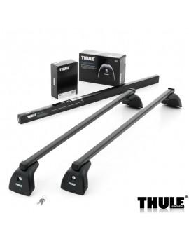 Příčníky Thule 751 + ocelová tyč + kit s přípravou ve střeše