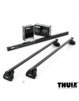 Příčníky Thule 753 + ocelové tyče + kit na integrované podélníky