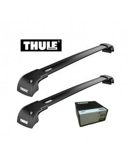 Příčníky Thule WingBar Edge Black + kit na integrované podélníky