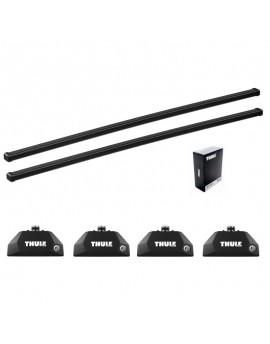 Příčníky Thule 7106 + ocelová tyč + kit na integrované podélníky