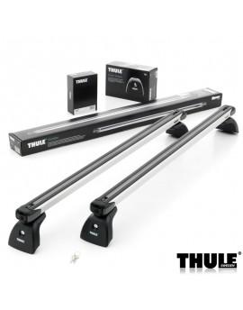 Příčníky Thule 751 + výsuvné tyče SlideBar 893 příprava ve střeše + kit
