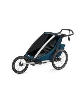 Thule Chariot Cross 1 Majolica Blue 2021 + bike set + kočárkový set + běžecký set