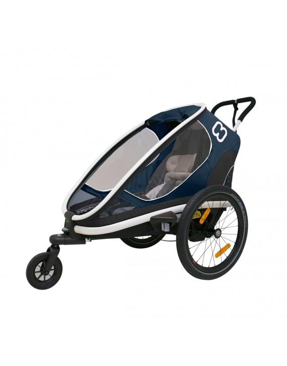 Dětský vozík za kolo Hamax Outback One Navy Blue 2020