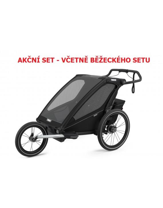 Thule Chariot Sport 2 Midnight Black 2021 + bike set + kočárkový set + běžecký set